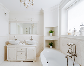 Bathroom Cabinets and Fixtures